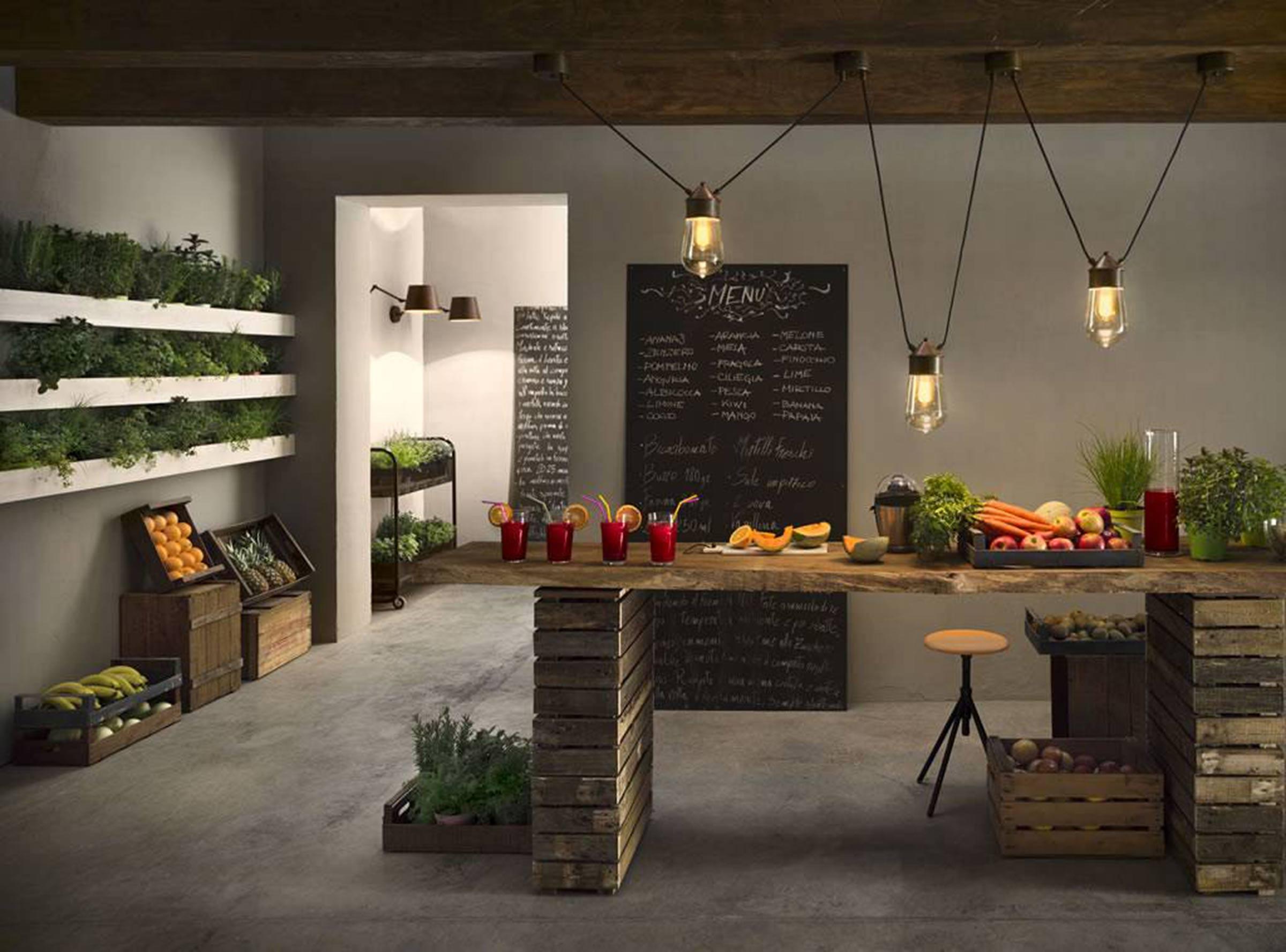 Luminaires design à Lyon, Les cuisines d'Arno