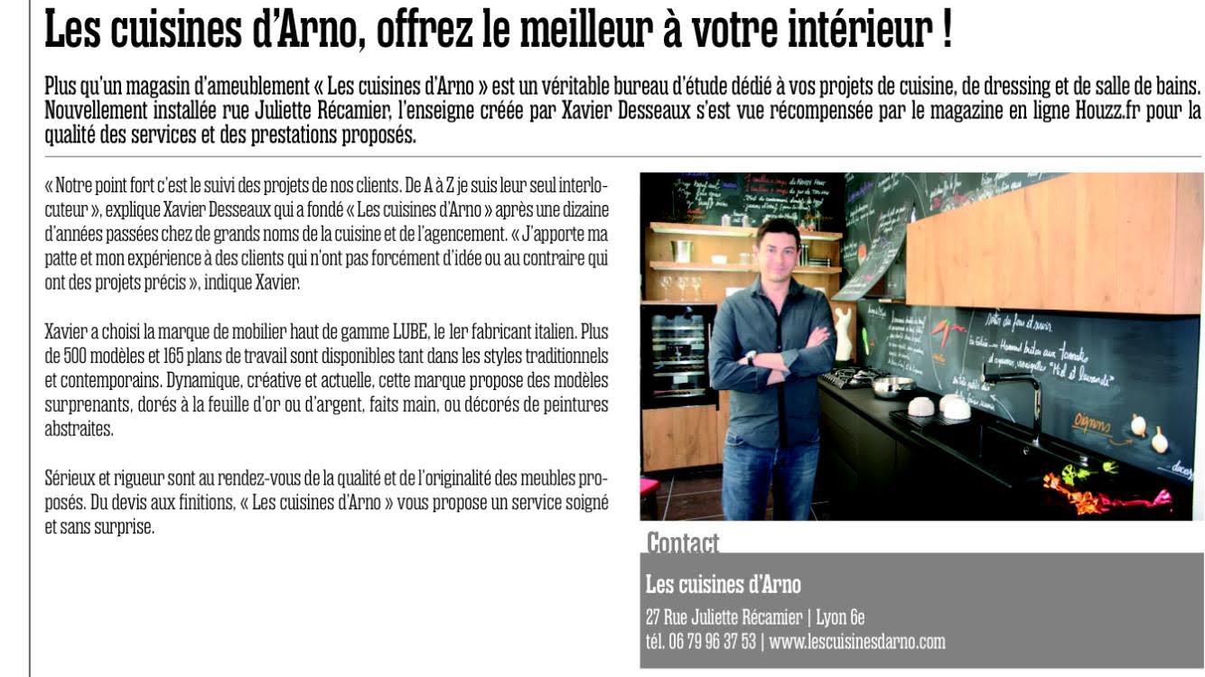 publications dans la presse les cuisines d arno. Black Bedroom Furniture Sets. Home Design Ideas