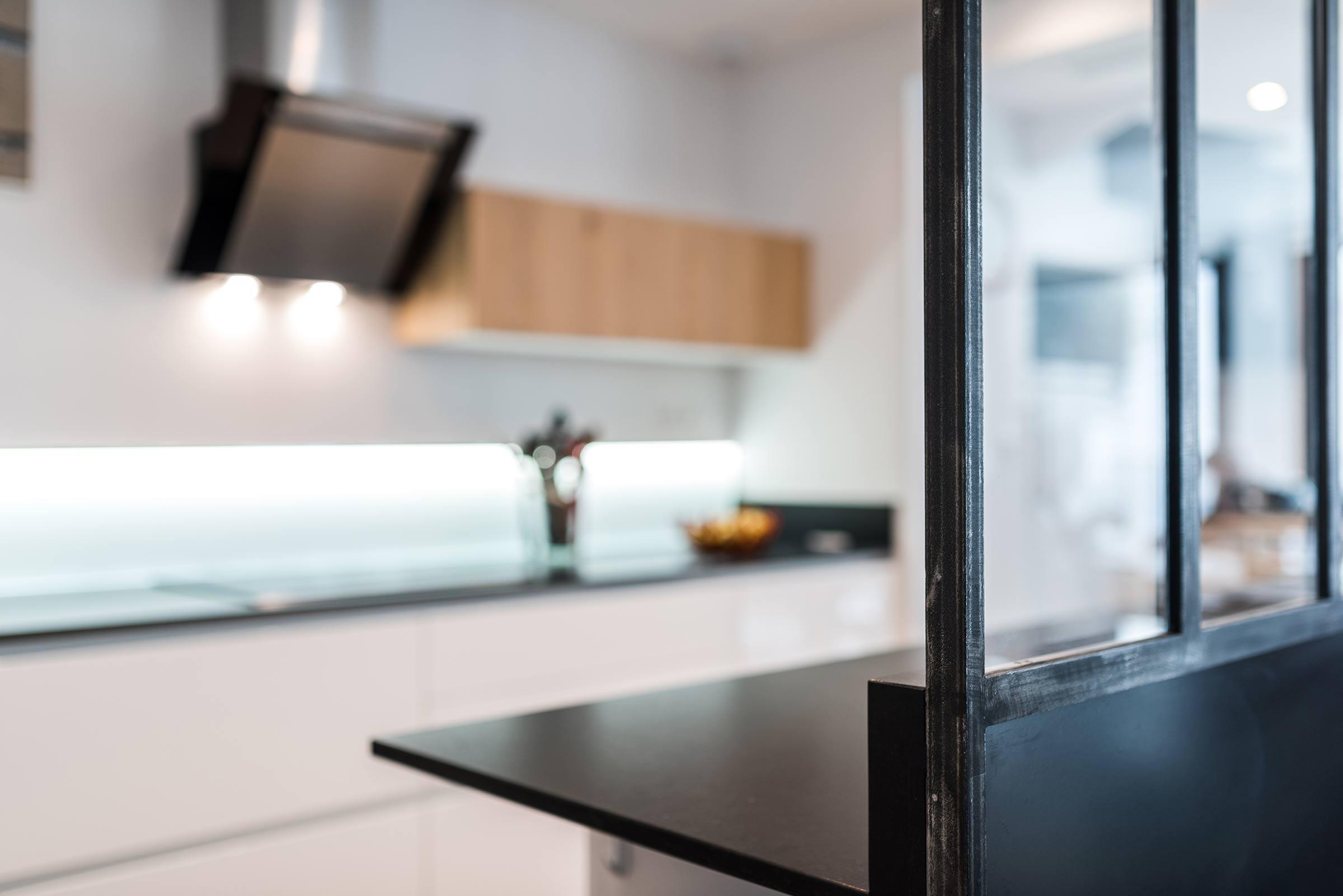 R novation d 39 une cuisine avec verri re lyon 7 - Renovation cuisine lyon ...