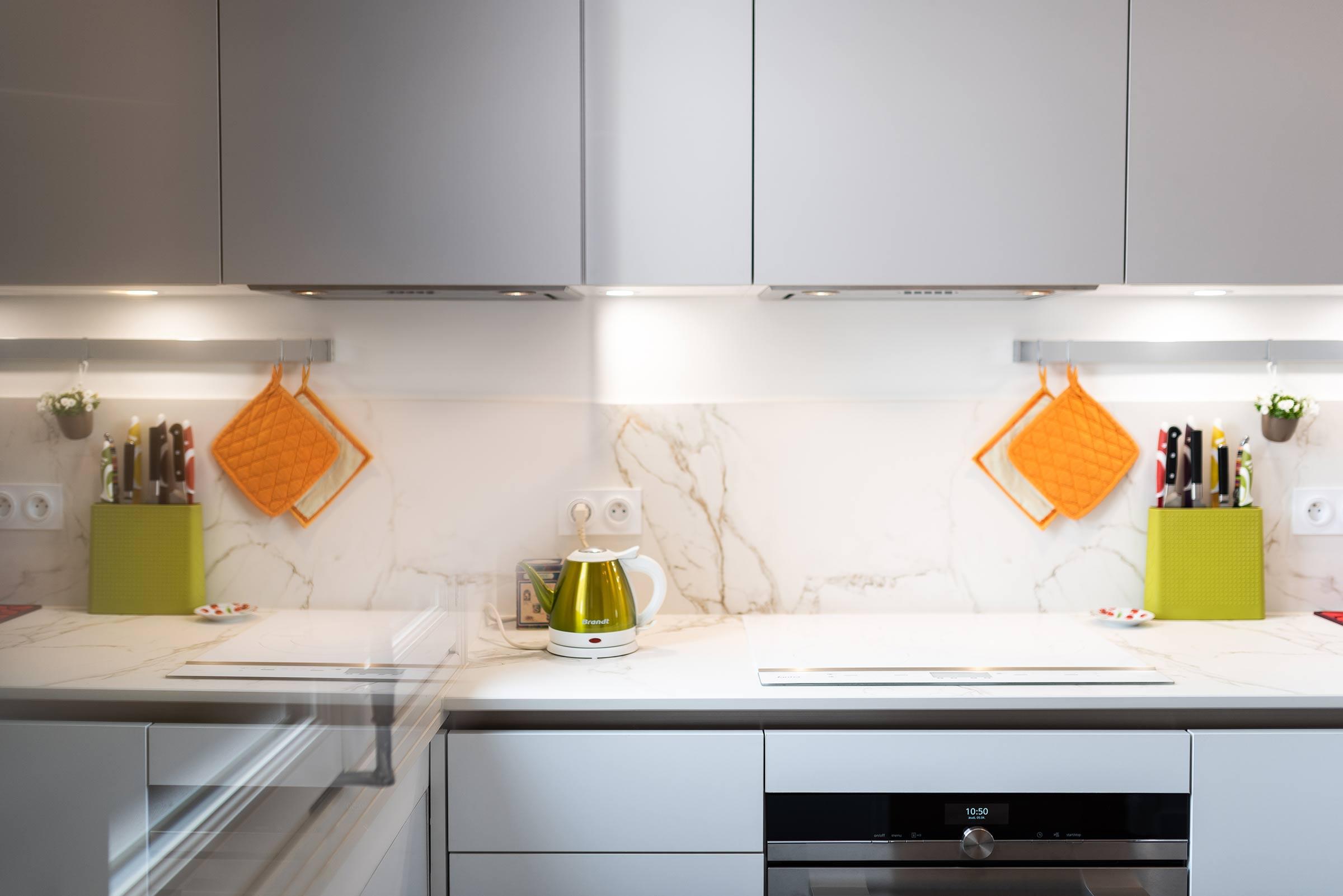 R novation de cuisine du sol au plafond lyon 6e - Renovation cuisine lyon ...