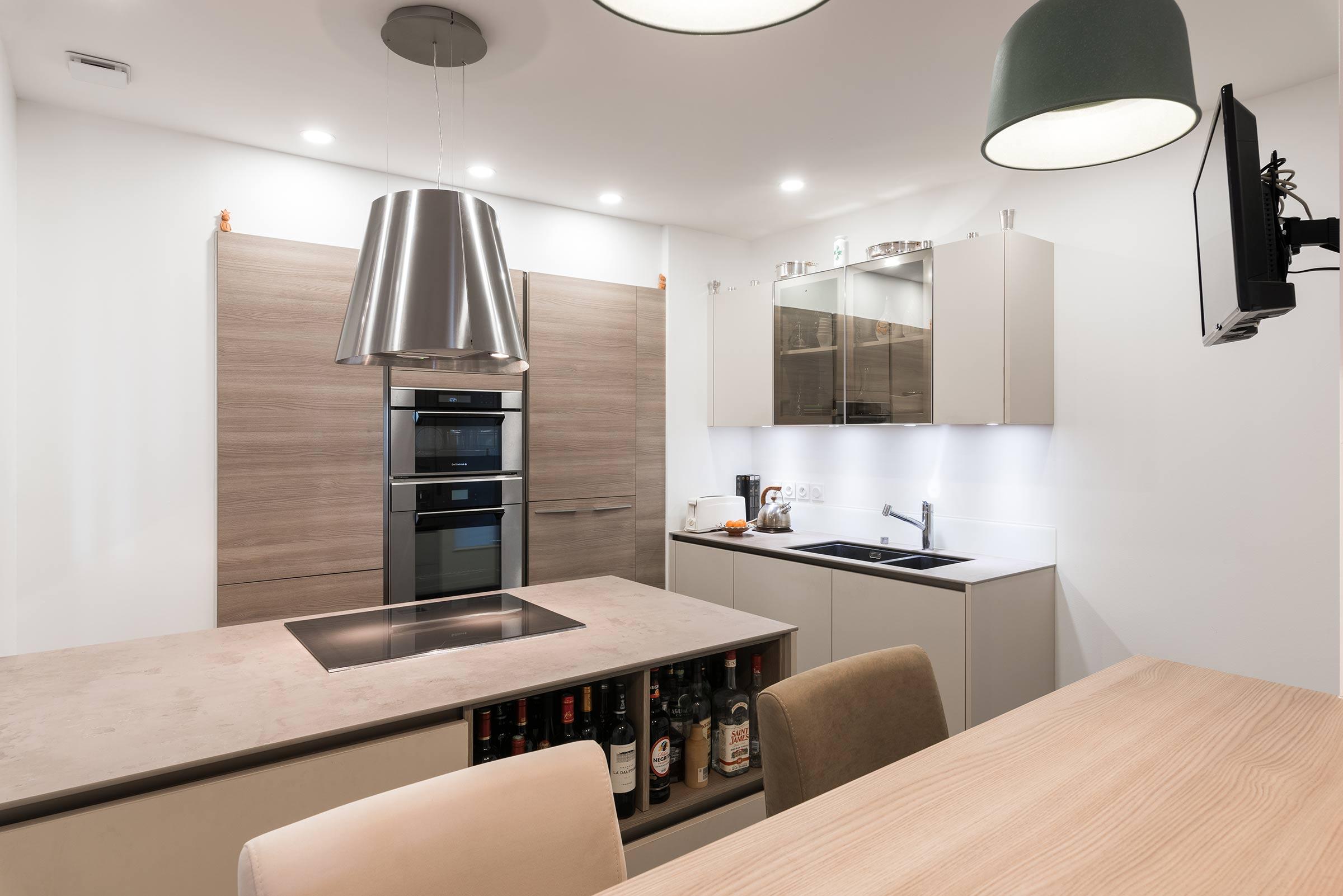 Rénovation cuisine, salle de bain et dressing Brotteaux